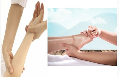 HAND & ARM/LEG & FEET MASSAGE